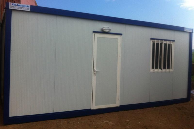Via Industrie Modulaire Maroc Base Vie Bureau De